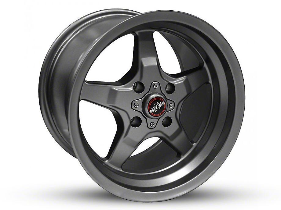 Race Star 91 Drag Star Black Chrome Wheel - 15x8 (87-93 All, Excluding Cobra)