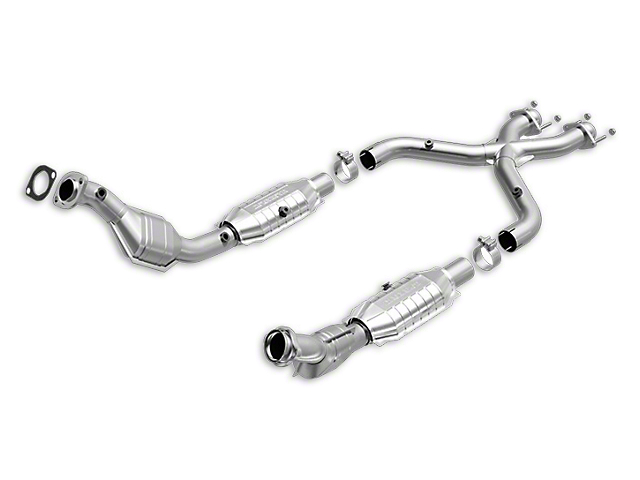 Magnaflow Direct-Fit Catted X-Pipe: HM Grade (99-04 GT)