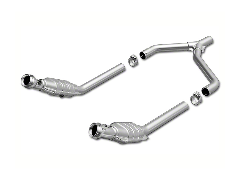 Magnaflow Direct-Fit OEM Grade Catted Y-Pipe (05-09 V6)