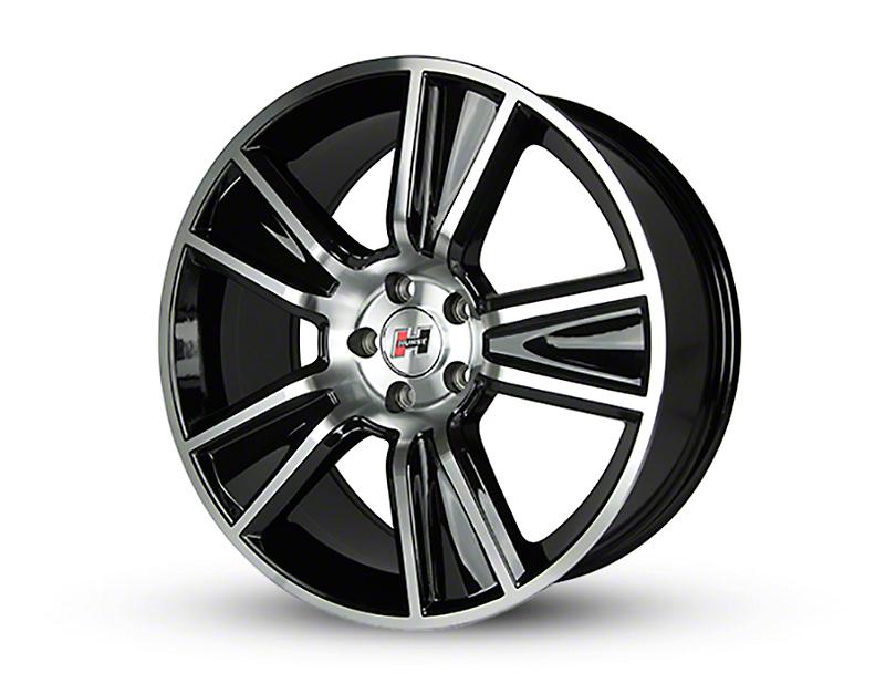 Hurst Stunner Black Machined Wheel - 20x10 (05-14 All)