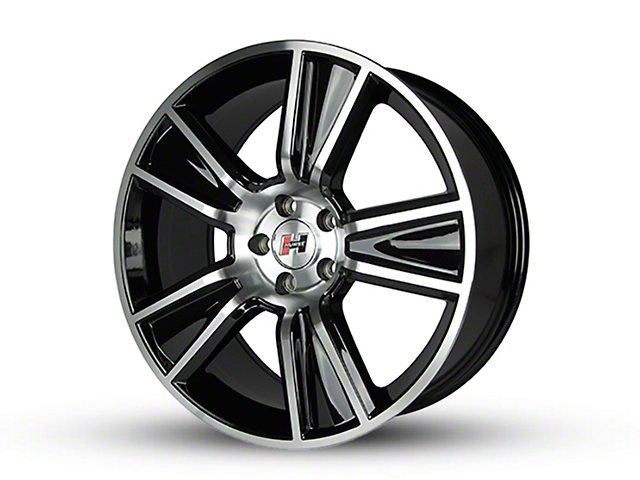 Hurst Stunner Black Machined Wheel - 20x10 (15-19 GT, EcoBoost, V6)