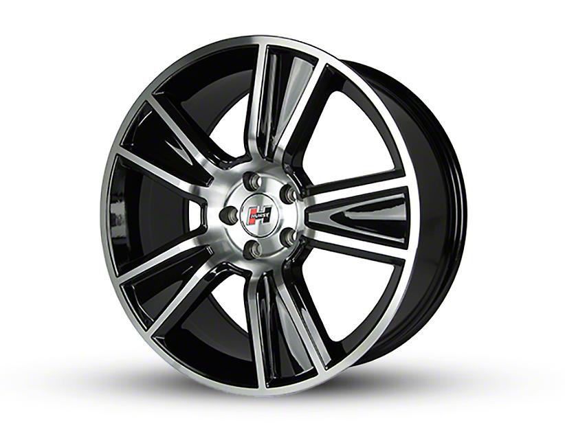 Hurst Stunner Black Machined Wheel - 20x10 (15-19 GT, EcoBoost, V6)