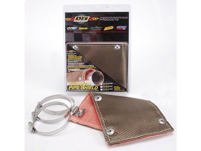 DEI Titanium Pipe Shield (79-19 All)