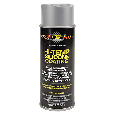 DEI Hi-Temp Slicone Coating - Aluminum (79-18 All)