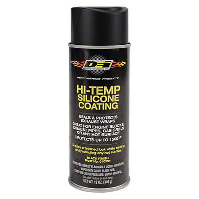 DEI Hi-Temp Slicone Coating - Black (79-19 All)