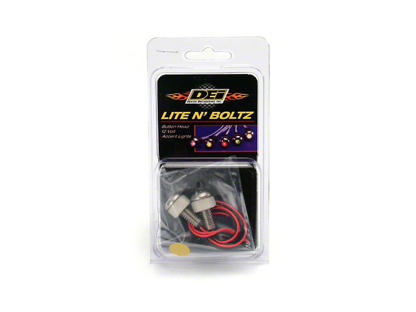 DEI LED Lite N Boltz Accent Lighting - Amber (79-19 All)
