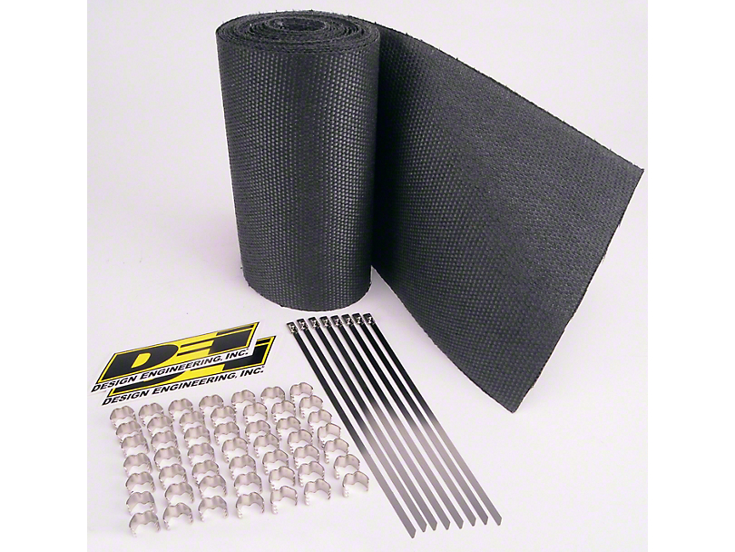 DEI Speed Sleeves Exhaust Wrap Jackets - Black (79-18 All)