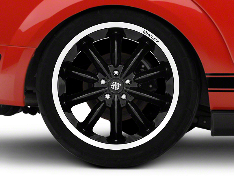 Shelby CS56 2.0 Black Wheel - 20x11 (05-14 All)