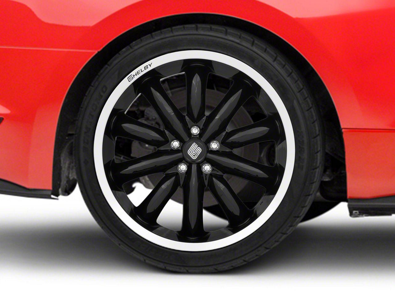 Shelby CS56 2.0 Black Wheel - 20x11 (15-19 GT, EcoBoost, V6)