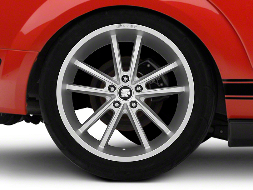 Shelby CS56 2.0 Silver Wheel - 20x11 - Rear Only (05-14 All)