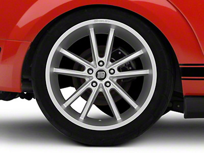 Shelby CS56 2.0 Silver Wheel - 20x11 (05-14 All)