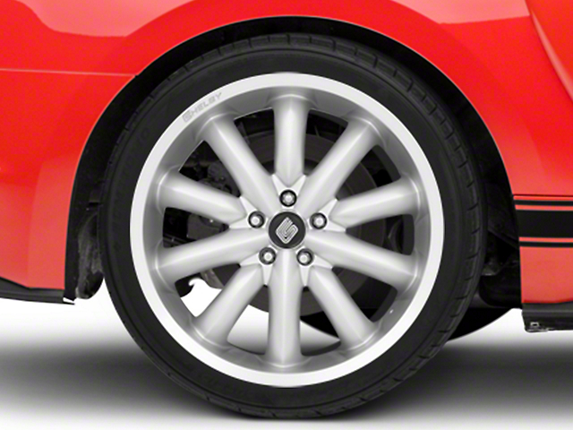 Shelby CS56 2.0 Silver Wheel - 20x11 - Rear Only (15-19 GT, EcoBoost, V6)