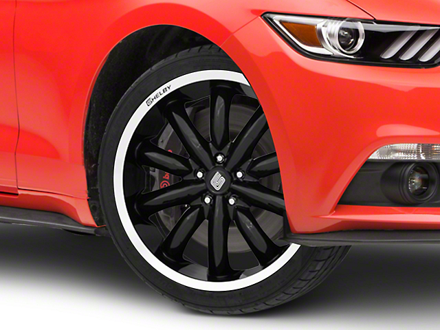 Shelby CS56 2.0 Black Wheel - 20x9 (15-19 GT, EcoBoost, V6)