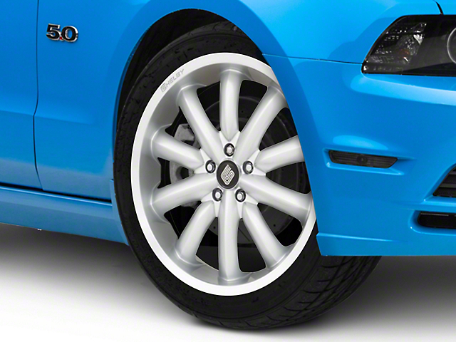 Shelby CS56 2.0 Silver Wheel; 20x9 (10-14 All)