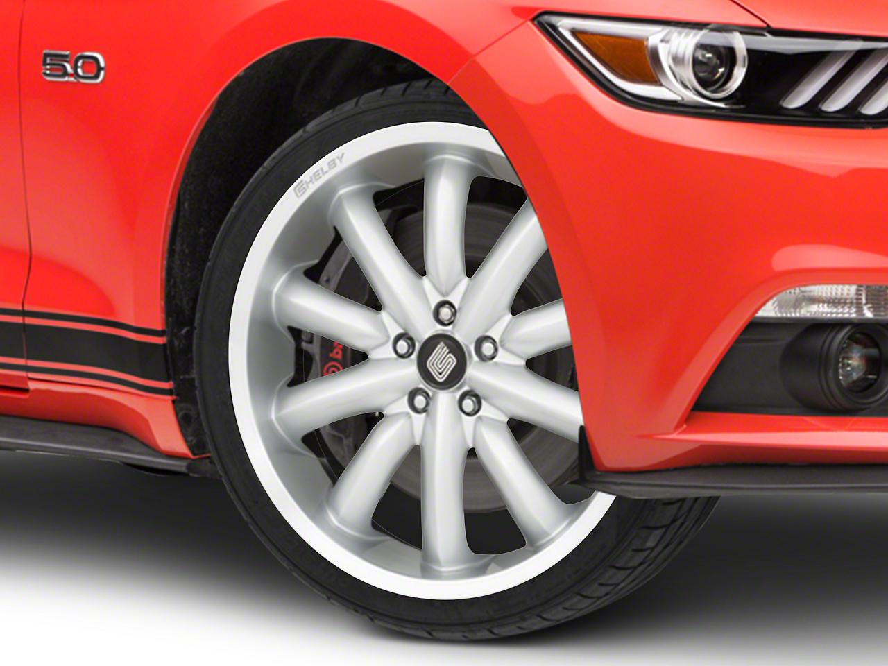 Shelby CS56 2.0 Silver Wheel - 20x9 (15-19 GT, EcoBoost, V6)
