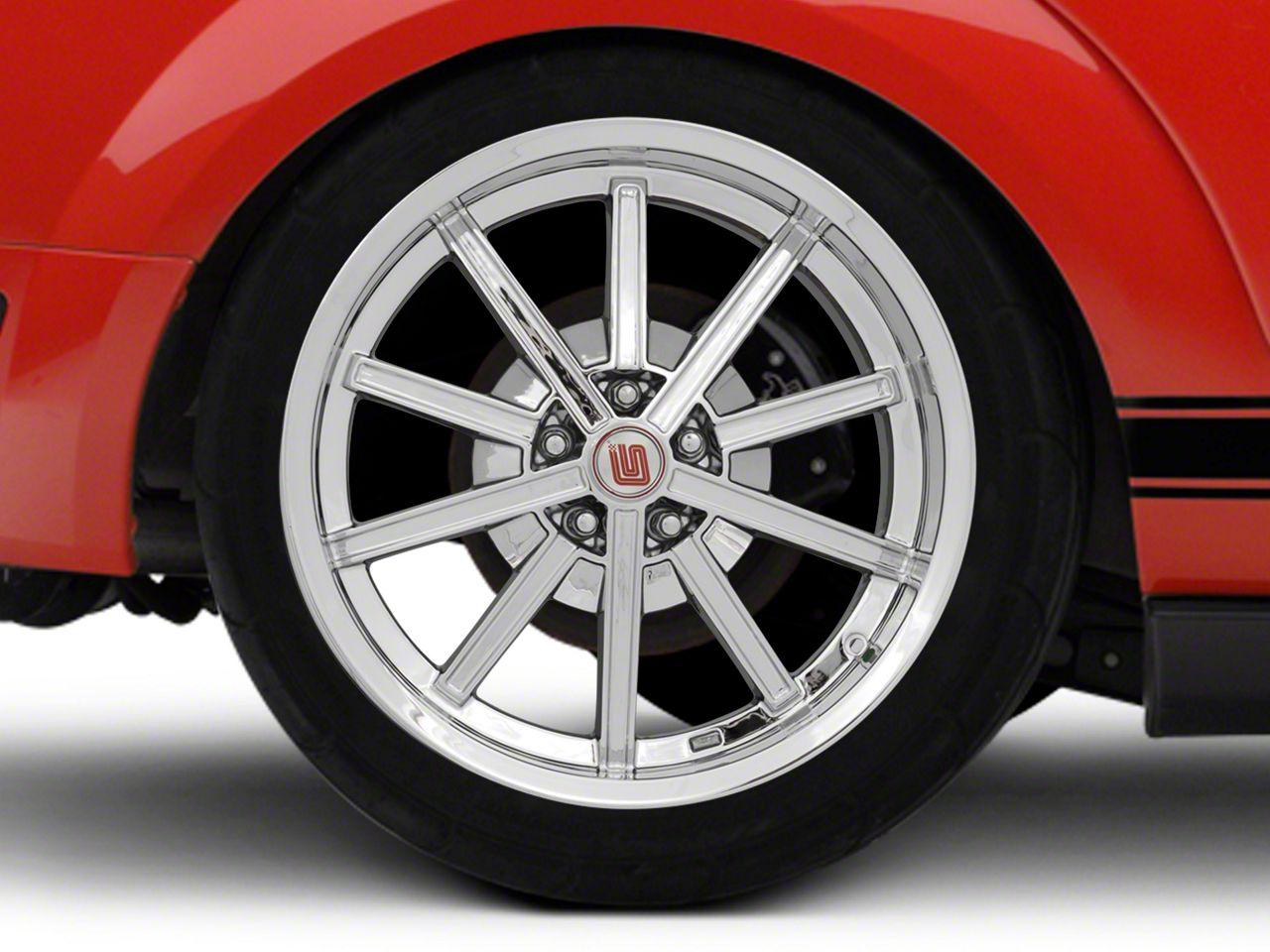 Shelby CS67 Chrome Wheel - 20x10 - Rear Only (05-14 All)