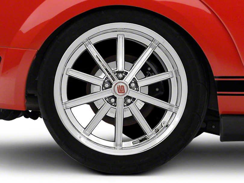 Shelby CS67 Chrome Wheel - 20x10 - Rear Only (05-14 All)
