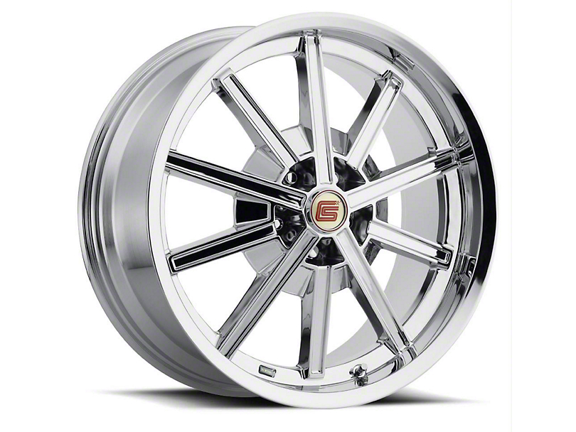 Shelby CS67 Chrome Wheel - 20x9 (15-19 EcoBoost, V6)