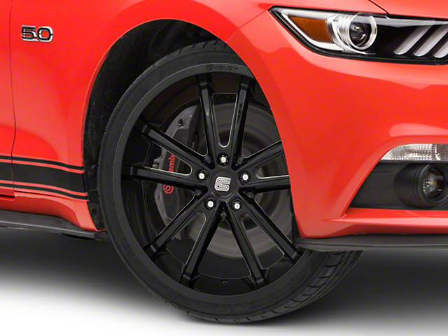 Shelby CS2 Black Wheel - 20x11 (15-19 GT, EcoBoost, V6)