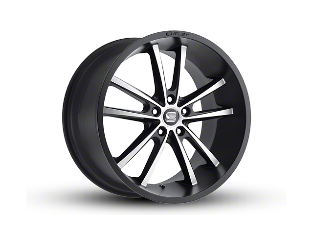 Shelby CS2 Black w/ Machined Face Wheel - 20x11 (05-14 All)