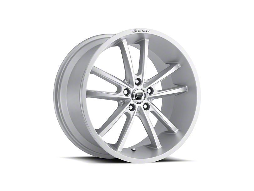 Shelby CS2 Silver Wheel - 20x11 - Rear Only (05-09 All)