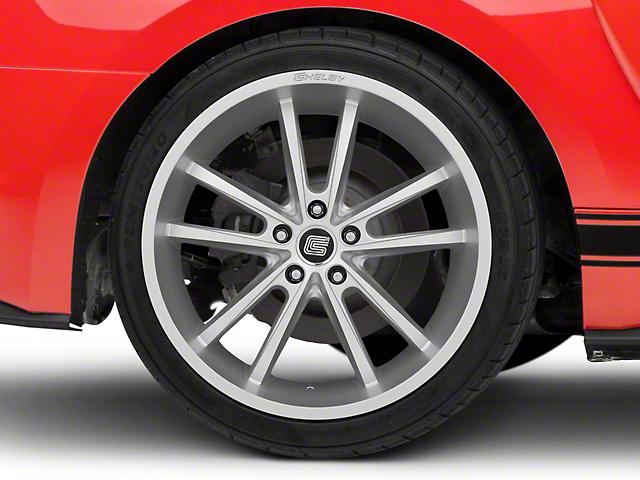 Shelby CS2 Silver Wheel - 20x11 (15-18 GT, EcoBoost, V6)