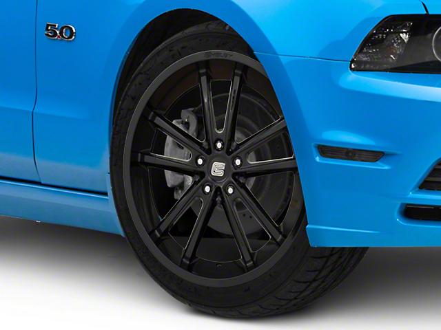 Shelby CS2 Black Wheel; 20x9 (10-14 All)