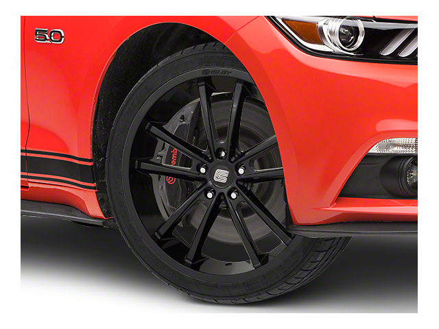 Shelby CS2 Black Wheel - 20x9 (15-18 GT, EcoBoost, V6)