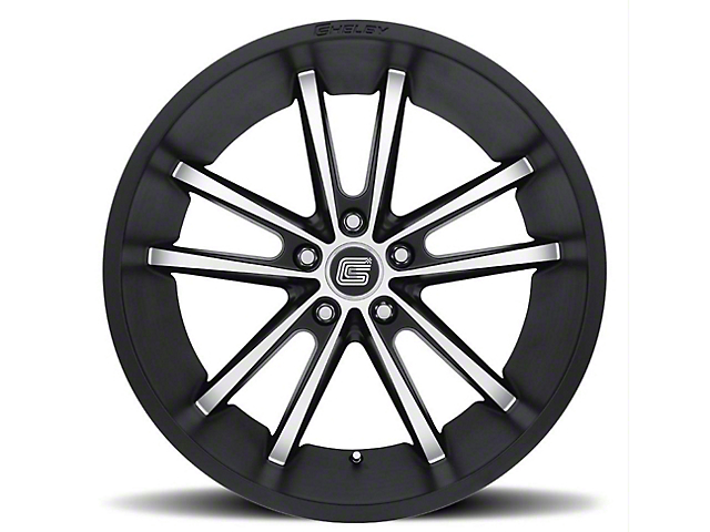 Shelby CS2 Black w/ Machined Face Wheel - 20x9 (15-18 GT, EcoBoost, V6)