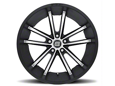 Shelby CS2 Black w/ Machined Face Wheel - 20x9 (15-19 GT, EcoBoost, V6)