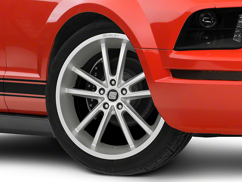 Shelby CS2 Silver Wheel - 20x9 (05-14 All)