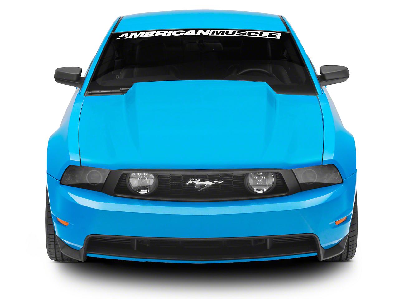 SpeedForm 3 in. Cowl Hood - Unpainted (10-12 GT, V6)