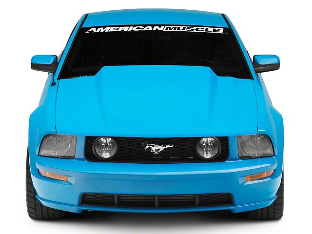 SpeedForm 3-Inch Cowl Hood; Unpainted (05-09 GT, V6)