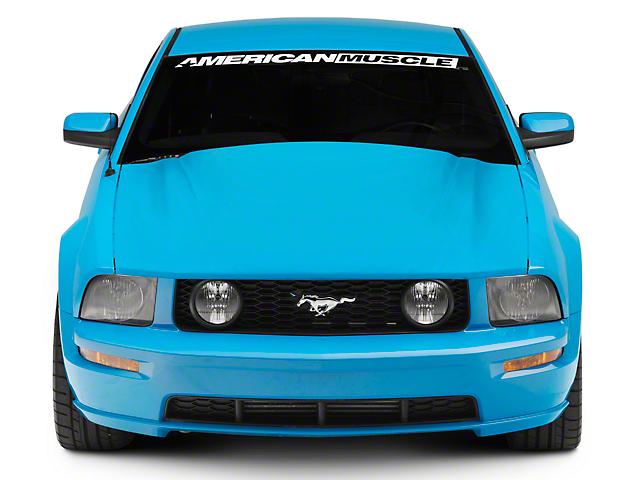 SpeedForm Cobra Style Hood; Unpainted (05-09 GT, V6)