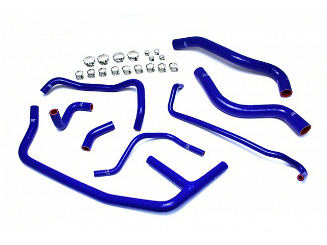 HPS Silicone Radiator Coolant and Heater Hose; Blue (15-20 EcoBoost)