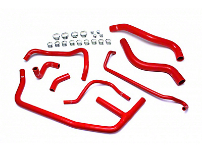 HPS Silicone Radiator Coolant & Heater Hose - Red (15-19 EcoBoost)