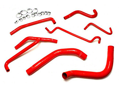 HPS Silicone Radiator Coolant & Heater Hose - Red (11-14 V6)