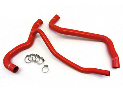 HPS Silicone Radiator Coolant Hose - Red (07-10 GT)