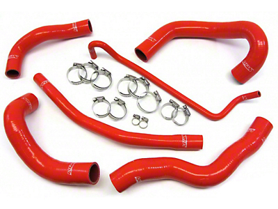 HPS Silicone Radiator Coolant Hose - Red (05-06 GT)