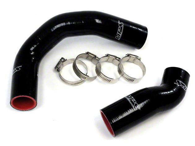 HPS Silicone Radiator Coolant Hose - Black (03-04 Cobra)
