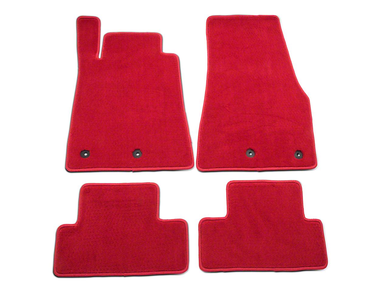 Lloyd Front & Rear Floor Mats - Red (13-14 All)