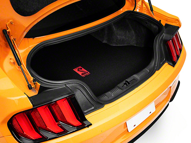 Lloyd Trunk Mat w/ GT350R Logo - Black (15-20 All)