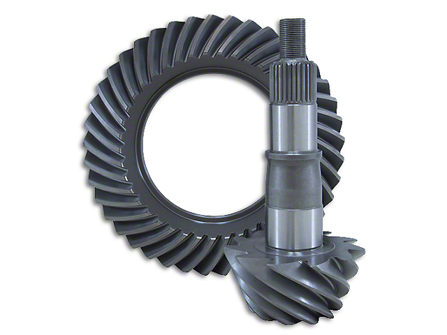 Yukon Gear Super Ring and Pinion Gear Kit; 4.56 Gear Ratio (15-21 All)