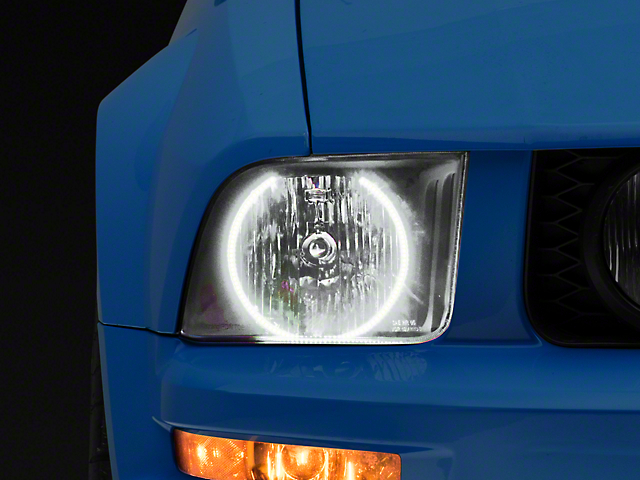 Oracle Black OE Style Headlights w/ LED Halos (05-09 GT, V6)