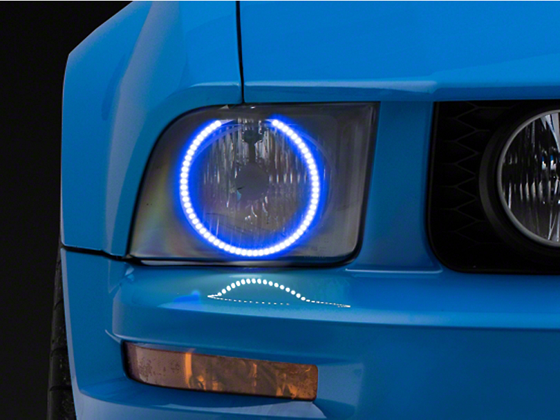 Oracle LED Headlight Halo Conversion Kit - Colored (05-09 All)