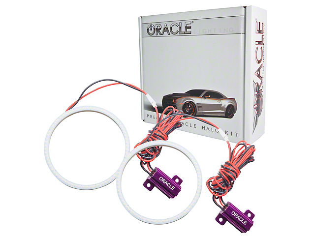 Oracle Plasma Halo Headlight Conversion Kit (15-17 All; 18-20 GT350, GT500)