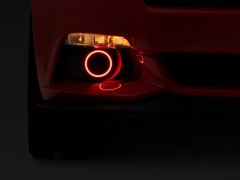 Oracle LED Fog Light Halo Conversion Kit (15-17 w/ Factory Fog Lights)