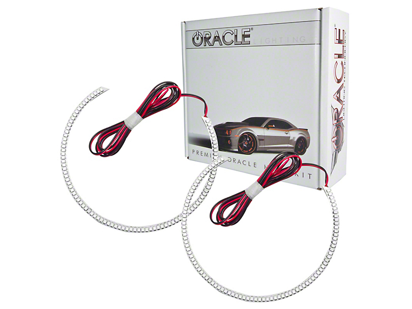 Oracle LED Halo Headlight Conversion Kit; Colored (10-12 w/o HID Headlights)