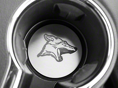 Coyote Cup Holder Accent Plates (15-19 All)
