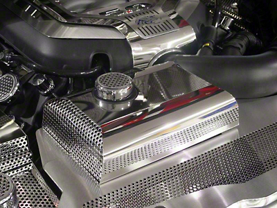 ACC Perforated Coolant Tank w/ Cap - Polished (11-14 GT, V6)